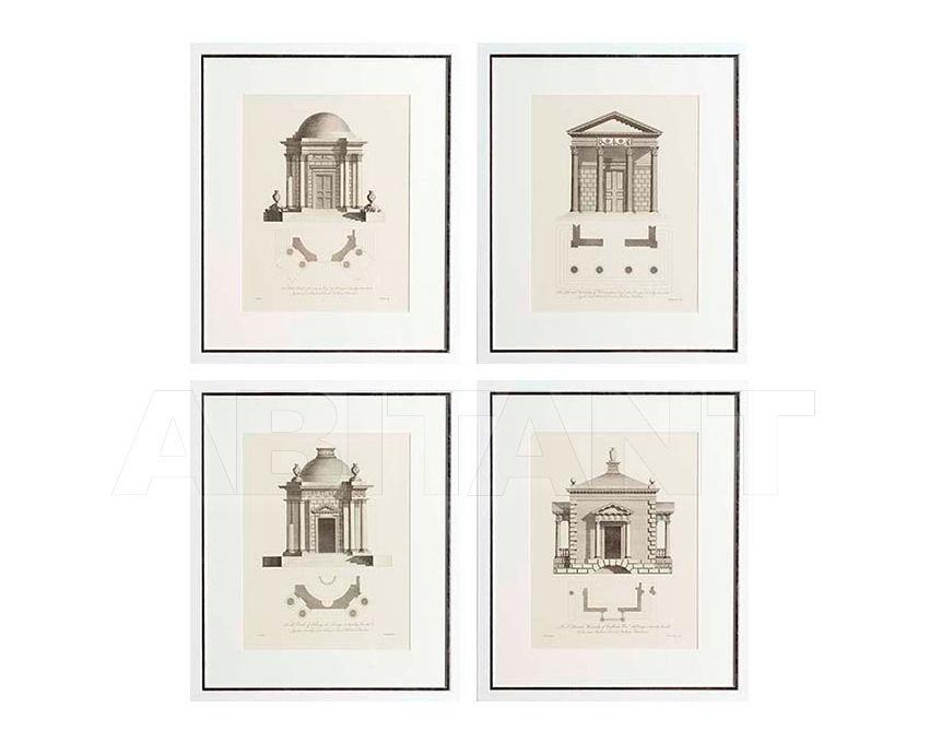 Купить Композиция Architecture  Eichholtz  Mirrors And Prints 105679