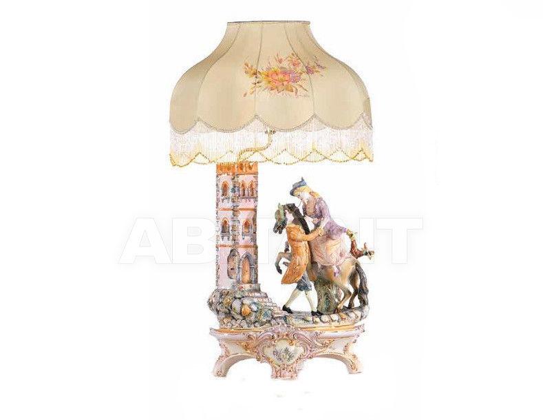 Купить Лампа настольная Ceramiche Lorenzon  Gruppi L.696/COL