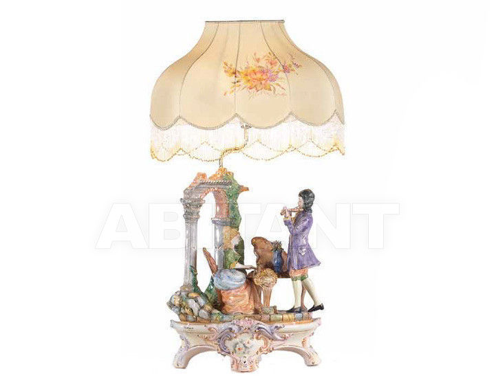 Купить Лампа настольная Ceramiche Lorenzon  Gruppi L.693/COL