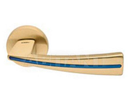 Купить Дверная ручка Mandelli Maniglia 1141/SB 04/GBL