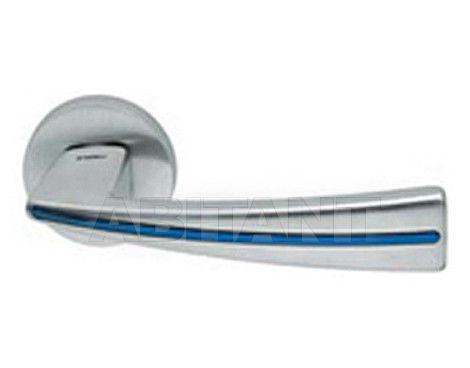 Купить Дверная ручка Mandelli Maniglia 1141/SB 26D/GBL