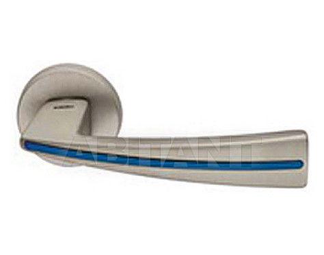 Купить Дверная ручка Mandelli Maniglia 1141/SB MSN/GBL