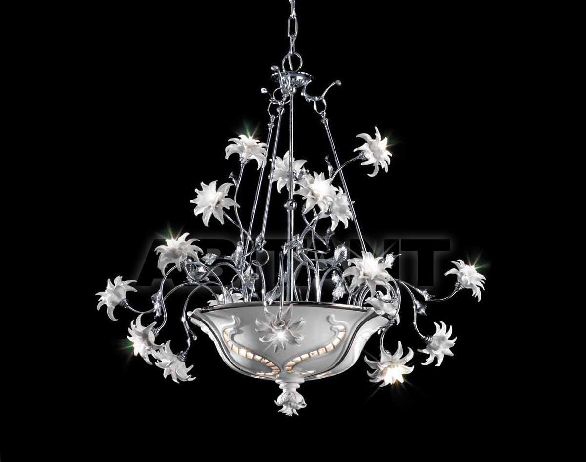 Купить Люстра Ceramiche Lorenzon  Luce LL.18/BP/F/18F