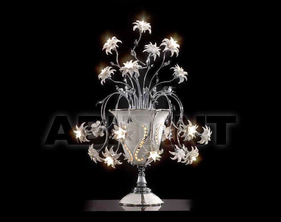 Купить Лампа настольная Ceramiche Lorenzon  Luce LL.19/F/BP/18F
