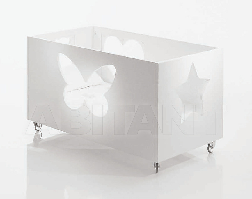 Купить Кроватка Cyrus Company Anteprima B125SF