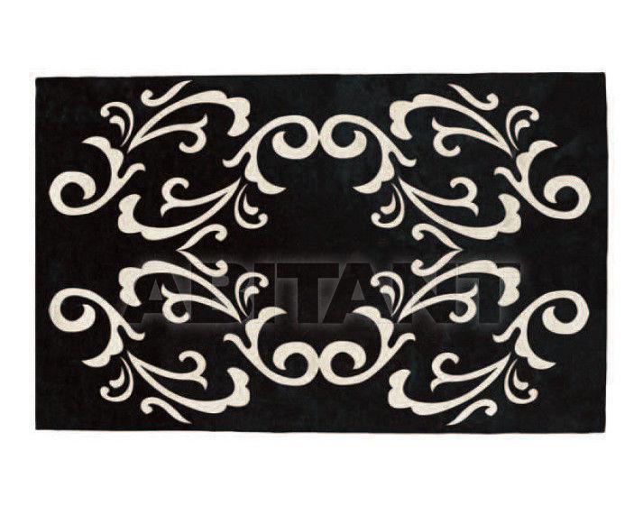 Купить Ковер современный Tisca Italia s.r.l. Aubusson s-baroc nero
