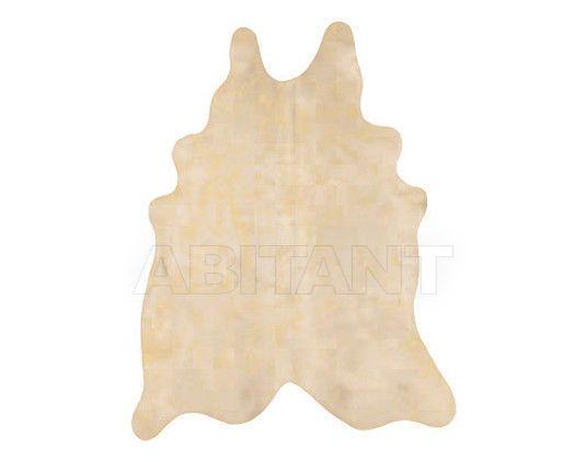 Купить Шкура Tisca Italia s.r.l. Aubusson cow metal oro/marrone