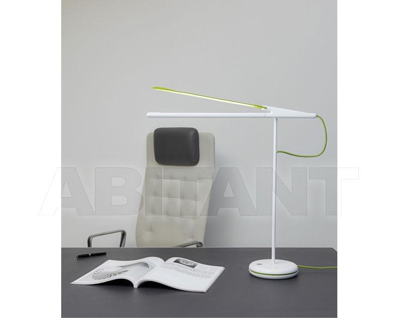 Лампа настольная lampe de bureau pistyle белая designheure lpibv