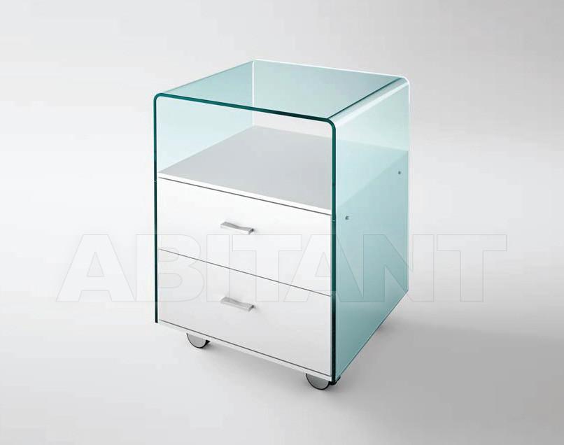 Купить Тумбочка rialto cassettiera Fiam Tables RI/48
