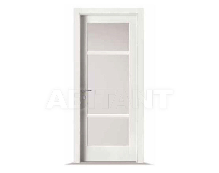 Купить Дверь деревянная Bertolotto Baltimora 2001 F2 satinato bianco