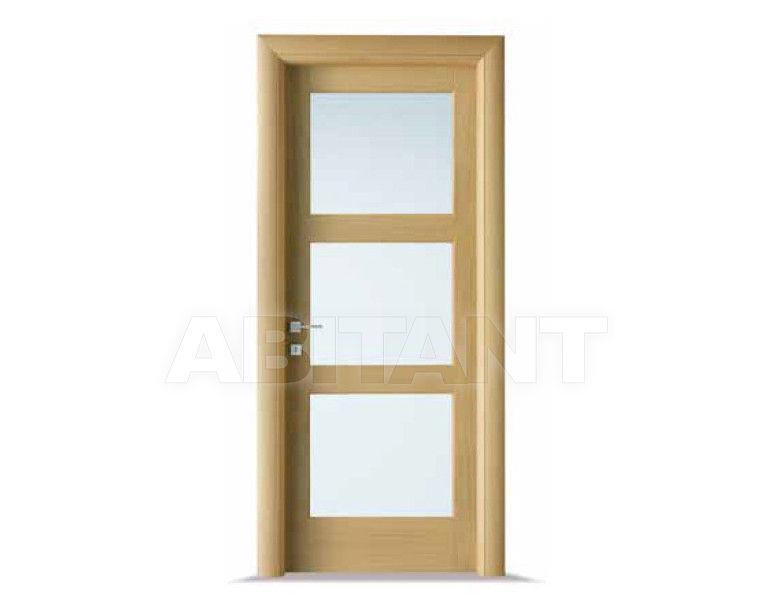 Купить Дверь деревянная Bertolotto Baltimora 2015 V satinato Blu