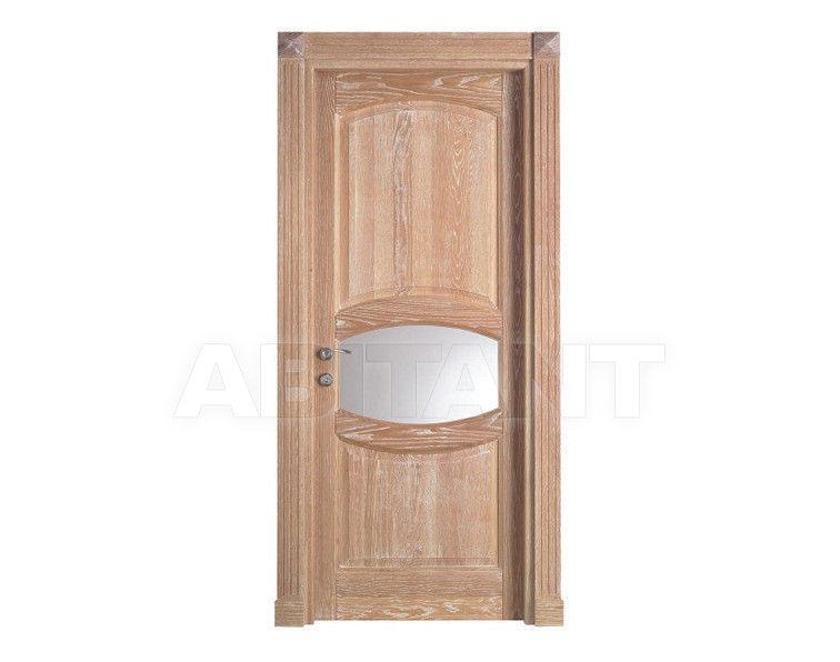Купить Дверь деревянная Bertolotto Antike 14 vetro 2 decape bianco