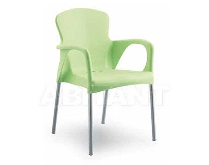 Купить Стул с подлокотниками BETTY Contral Indoor 400 13 = verde