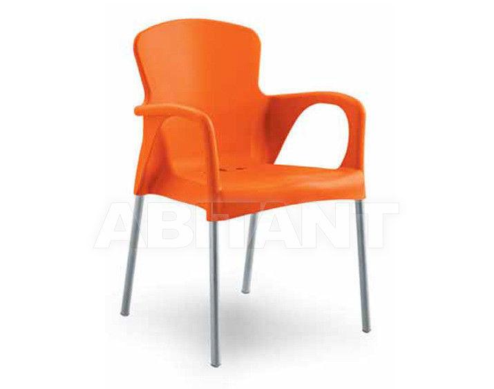 Купить Стул с подлокотниками BETTY Contral Indoor 400 11 = orange