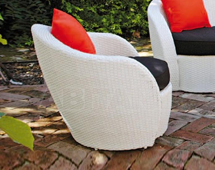 Купить Кресло LOTUS Contral Outdoor 524 BCO = bianco