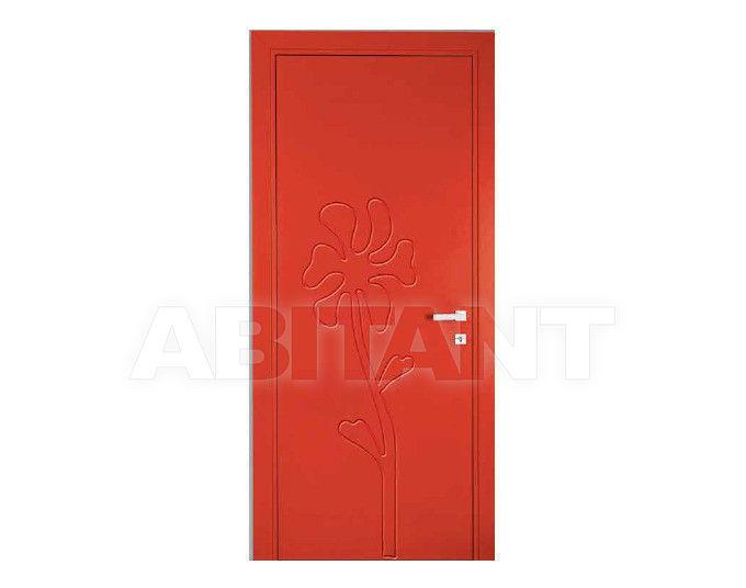 Купить Дверь деревянная Bertolotto Natura maggie incisa red