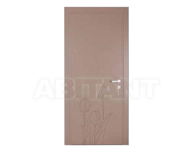 Купить Дверь деревянная Bertolotto Natura tulipan incisa beige