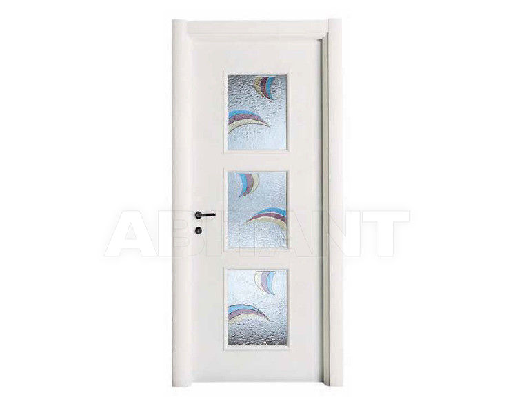 Купить Дверь деревянная Bertolotto Venezia trio vetro laccato bianco