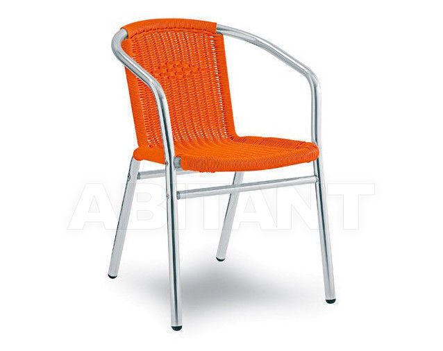 Купить Стул с подлокотниками NIZZA Contral Outdoor 704 11 = orange