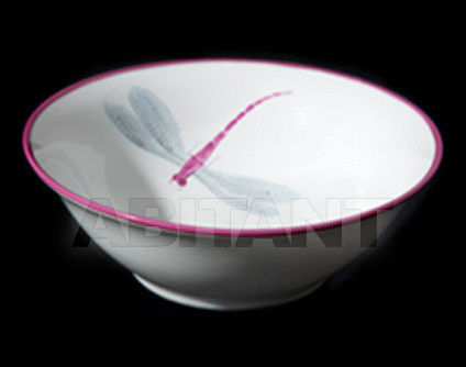 Купить Посуда декоративная Ines de Nicolay Dragon Flies Small round dish Dragon Flies