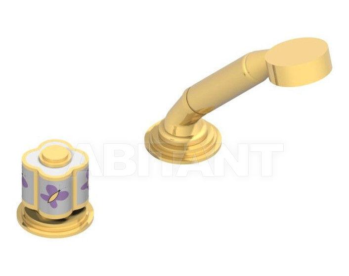 Купить Смеситель для ванны THG Bathroom  A7D.6532/60A Capucine mauve butterfly gold decor