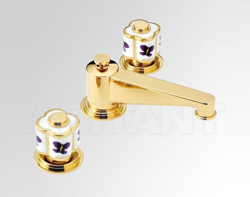 Купить Смеситель для биде THG Bathroom A7D.2151 Capucine mauve butterfly gold decor