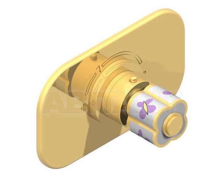 Купить Смеситель термостатический THG Bathroom A7D.5100B Capucine mauve butterfly gold decor