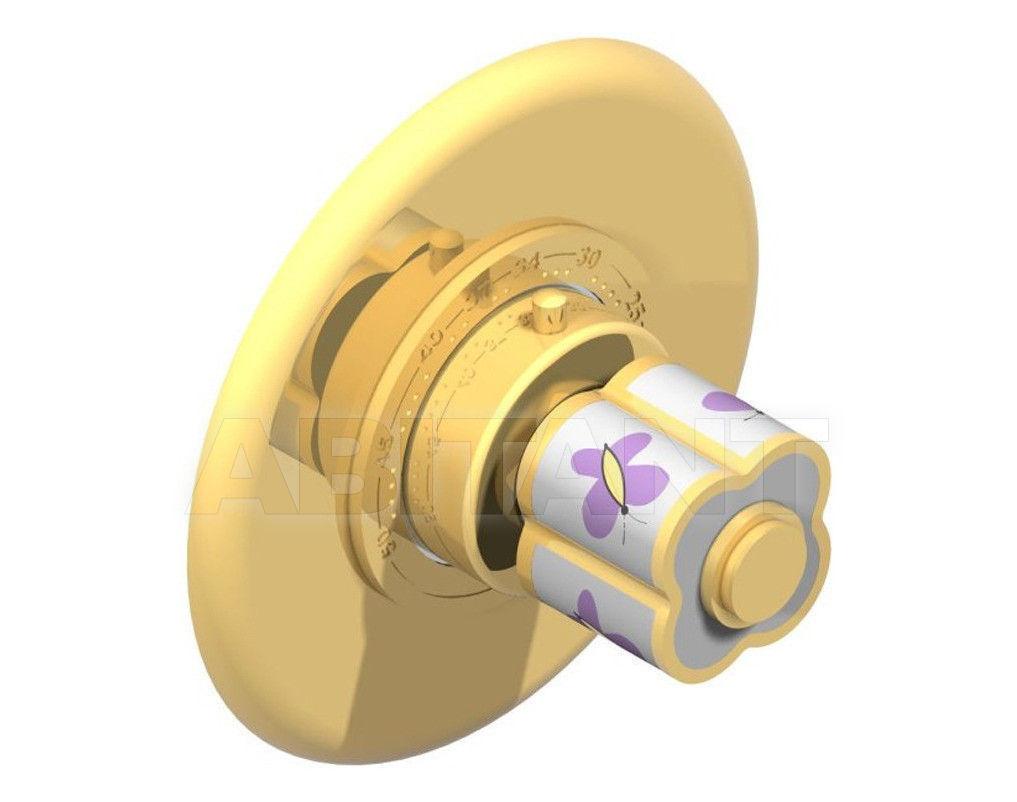 Купить Смеситель термостатический THG Bathroom A7D.15EN16EM Capucine mauve butterfly gold decor