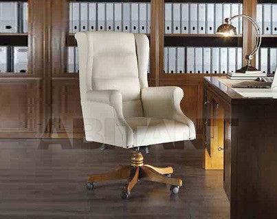 Купить Кресло для кабинета Carpanese Home Wood And White 4081