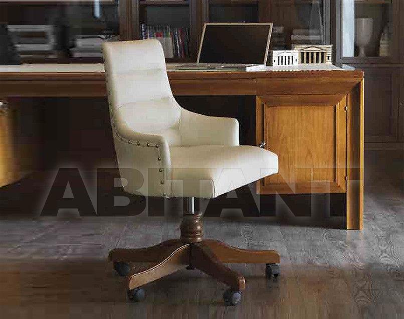 Купить Кресло для кабинета Carpanese Home Wood And White 4082