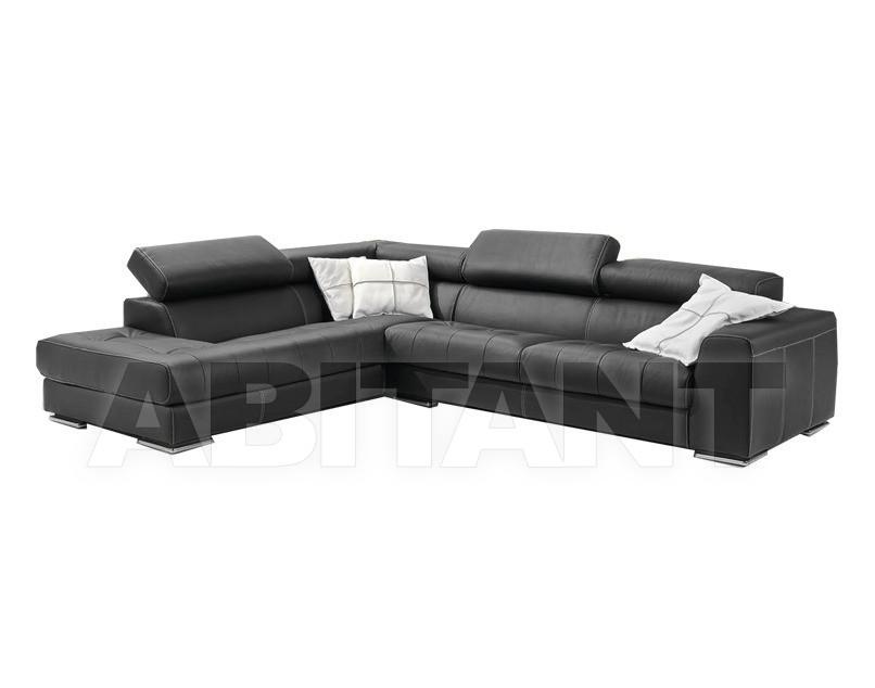 Купить Диван Divani Sofa Team Pelle ORIONE 3p angolo