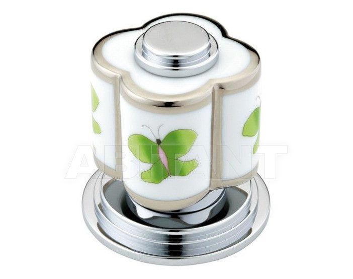 Купить Вентиль THG Bathroom A7E.50/4/VG Capucine vert décor Platine