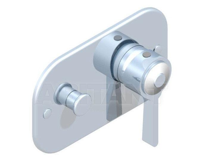 Купить Встраиваемый смеситель THG Bathroom A7E.6550 Capucine vert décor Platine