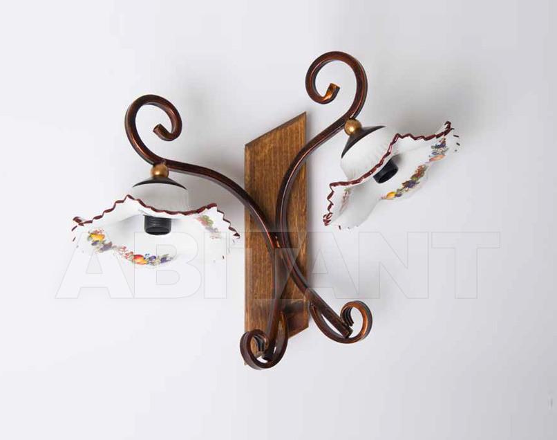 Купить Светильник настенный Artigiana Lampadari Allegato 2012 PANAREA/2A