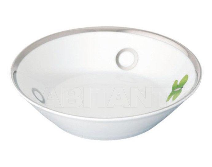 Купить Посуда декоративная THG Bathroom A7E.4615 Capucine vert décor Platine