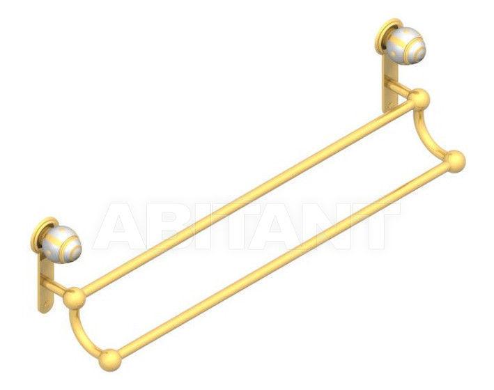 Купить Держатель для полотенец THG Bathroom A7A.516 Ithaque gold decor