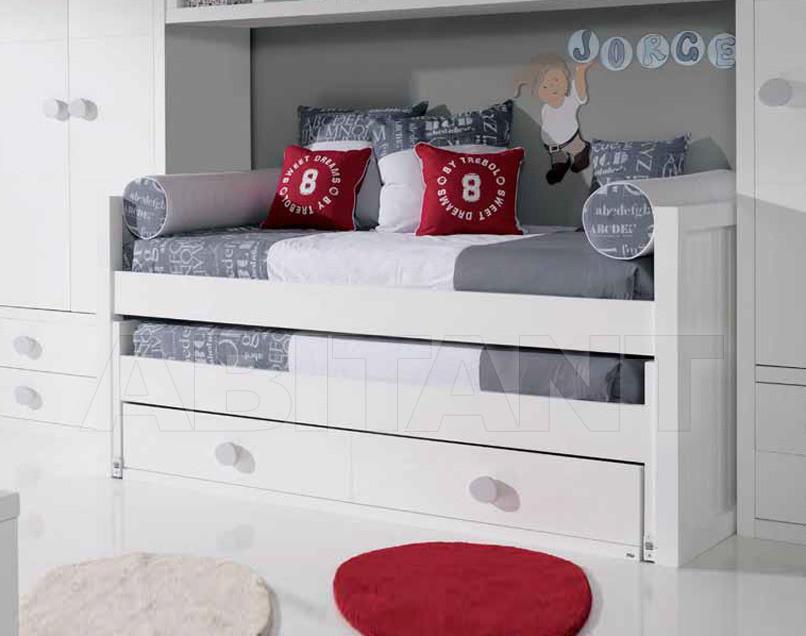 Купить Кровать детская Trebol Juvenil Silver 01.02.330