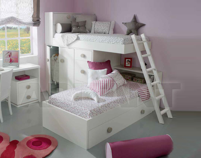Купить Кровать детская Trebol Juvenil Dinamyc 01.30.102 2