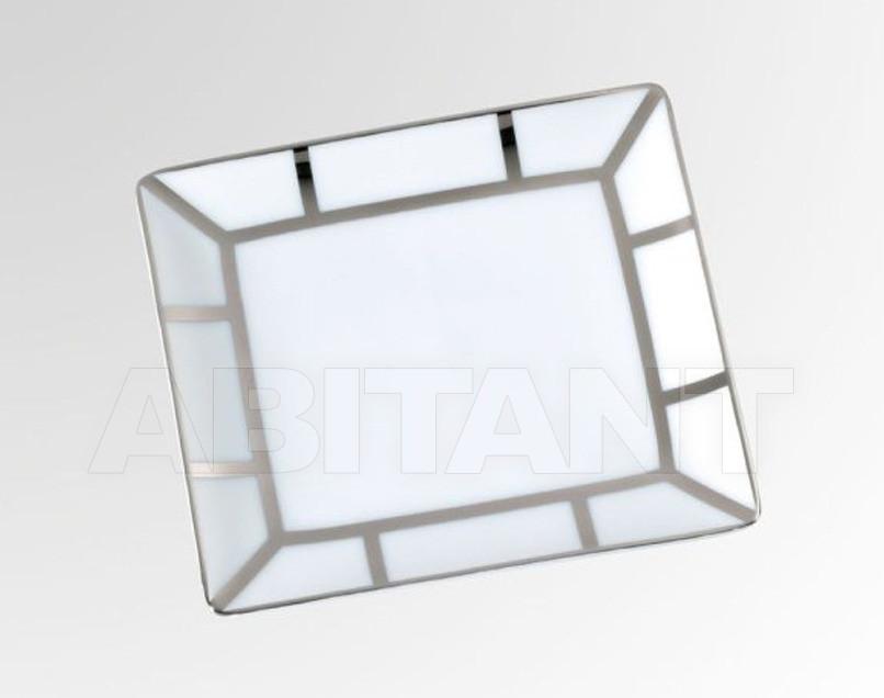 Купить Посуда декоративная THG Bathroom A7B.4612 Ithaque platinum decor