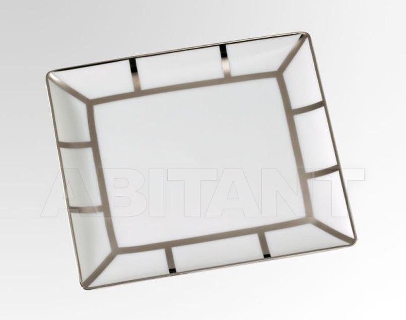 Купить Посуда декоративная THG Bathroom A7B.4613 Ithaque platinum decor