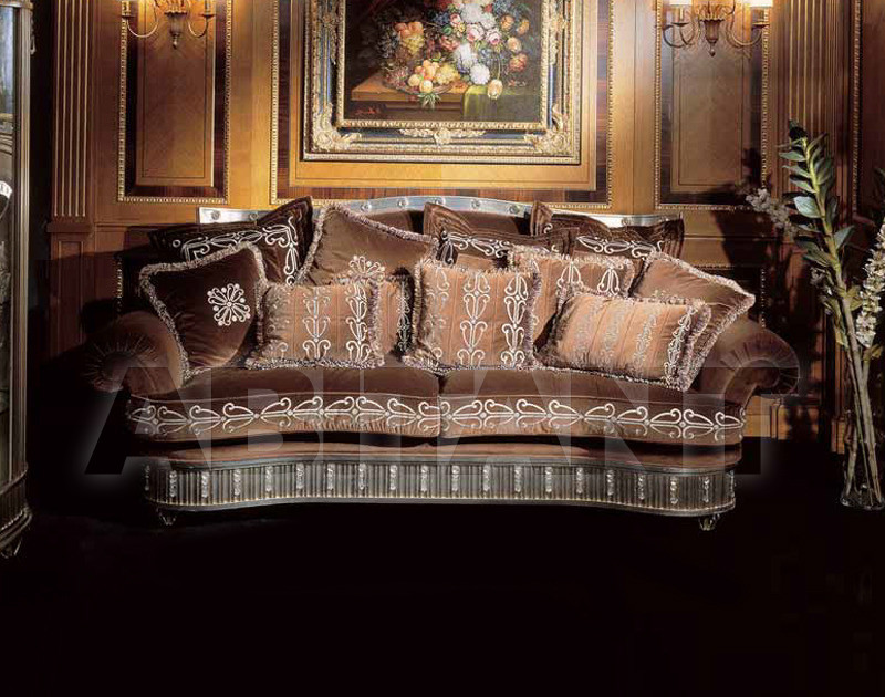 Купить Диван SILVER AND GOLD Isacco Agostoni Contemporary 1260 3 SEATER SOFA