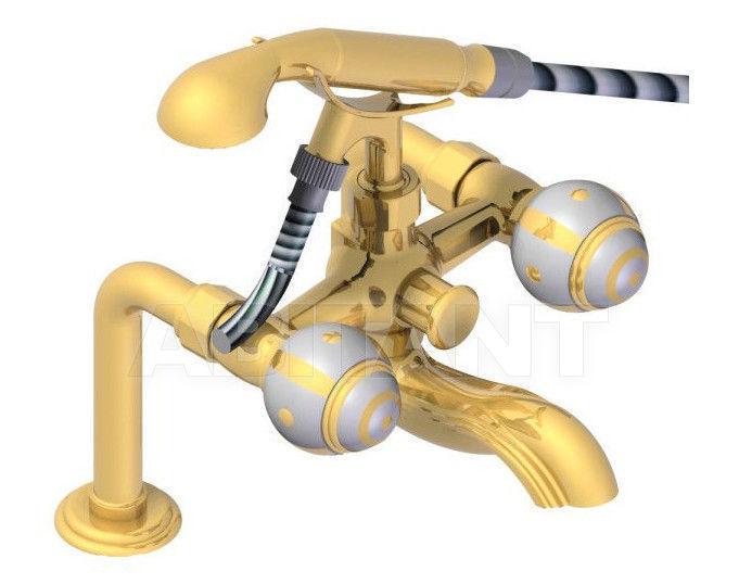 Купить Смеситель для ванны THG Bathroom 7A.13G Ithaque gold decor