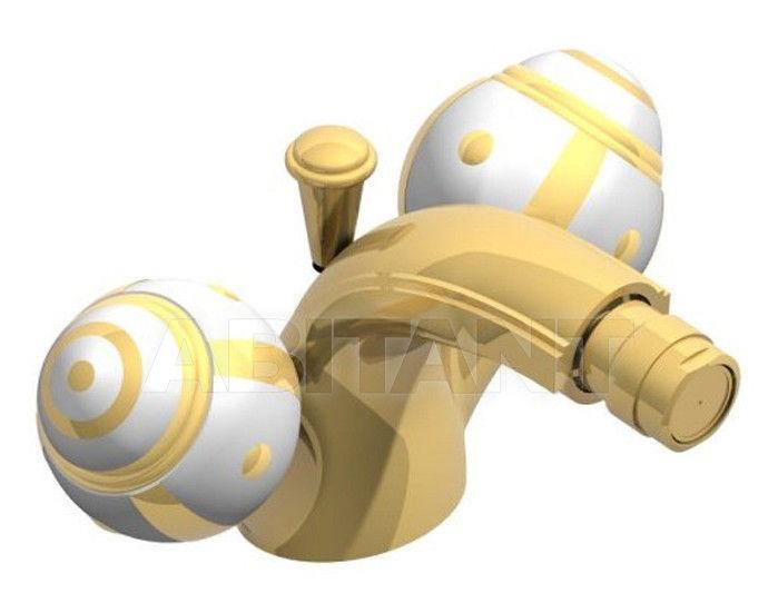 Купить Смеситель для биде THG Bathroom A7A.3202 Ithaque gold decor