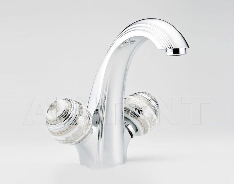 Купить Смеситель для раковины THG Bathroom A7G.2155 Marquise platinum decor
