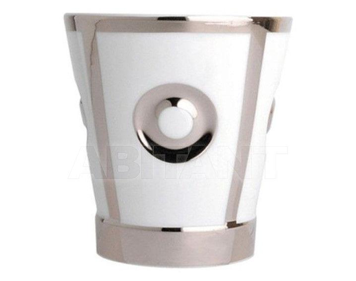 Купить Стакан для зубных щеток THG Bathroom A7C.4610 Passion platinum decor