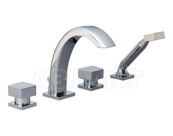 Купить Смеситель для ванны THG Bathroom  G79.112BG Cubica