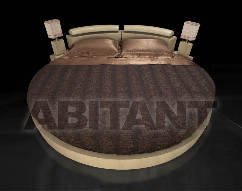 Купить Кровать Formitalia Bedrooms SLEEPING A'ROUND Bed including mattress cm 240 diam,