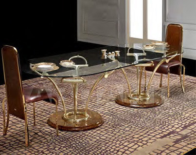 Купить Стол обеденный Formitalia Dining RICHIE BRASS Richie dining table oval