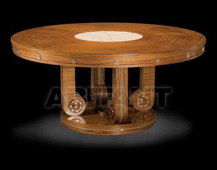 Купить Стол обеденный RIGA Isacco Agostoni Contemporary 1263 ROUND DINING TABLE