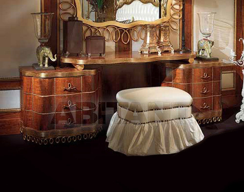Купить Столик туалетный LINEA Isacco Agostoni Contemporary 1273 DRESSING TABLE